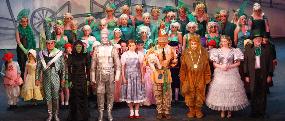 Wizard of Oz group shot